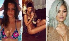 E. Ratajkowski, Rihanna, K. Jenner