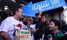 """Kalėdinė loterija """"El Gordo"""" Ispanijoje"""