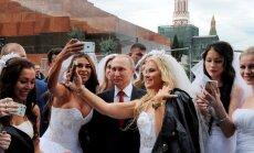 Vladimiras Putinas su netikromis nuotakomis