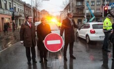 Kaune atidaroma pagrindinė miesto gatvė