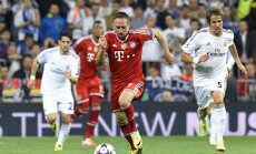Franckas Ribery atakuoja Real vartus