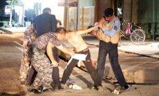Irake sulaikytas berniukas su savižudžio diržu
