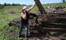 Vareikonių kaime seno pastato griuvėsiai prispaudė žmogų, vyras žuvo