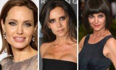 A. Jolie, V. Beckham, K. Holmes