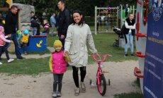 Klaipėdos supermiesto vaikų žaidimo aikštelės atidarymas