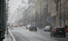 Didžioji dalis Lietuvos kelių padengta šlapiu sniegu