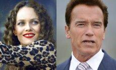 Vanessa Paradis ir Arnoldas Schwarzeneggeris