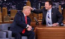Donaldas Trumpas ir Jimmy Fallonas
