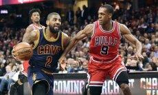 "NBA, ""Cavaliers"" ir ""Bulls"" rungtynių akimirka"
