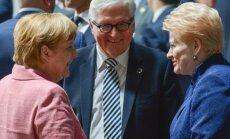 Angela Merkel, Frankas Walteris Steinmeieris, Dalia Grybauskaitė
