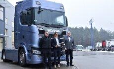 Konkurso nugalėtoju tapo Scania sunkvežimis