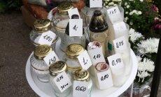 Žvakučių kainos prie Petrašiūnų kapinių