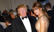 Melania ir Donaldas Trumpai