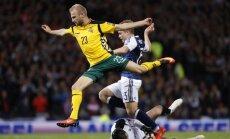 Atranka į pasaulio čempionatą: Škotija – Lietuva
