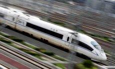 China Railway traukinys