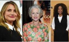 Cameron Diaz, Helen Mirren ir Oprah Winfrey