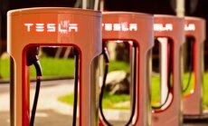 Tesla įkrovimo stotelės