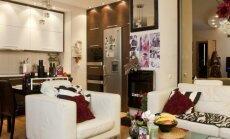 Jaunatviškas 87 kv.m. butas Vilniuje, kuriame karaliauja kontrastai