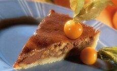 Šokoladinis pyragas su graikiniais riešutais