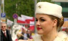 Šventiniu paradu Vilniuje buvo pažymėta užsienyje gyvenančių lenkų diena
