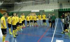 Lietuvos salės futbolo rinktinės treniruotė