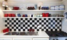 Kitokia virtuvė: šachmatų ornamento panaudojimo būdai