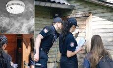 """Priešgaisrinės apsaugos pareigūnais dalyvauja akcijoje """"Gyvenkime saugiai"""""""