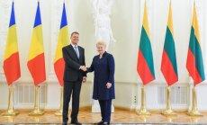 Dalia Grybauskaitė, Klausas Iohannisas