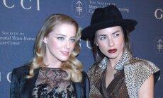 Tasya Van Ree ir Amber Heard