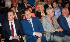 Gabrielius Landsbergis, Valdas Sutkus, Danas Arlauskas, Valentinas Mazuronis
