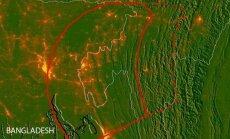 Tyrime teigiama, kad žemės drebėjimas šioje vietoje gali siekti nuo 8,2 iki 9 balų.  Stecklerir kt., LDEO nuotr.
