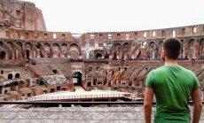 J. Laukaitis Romoje