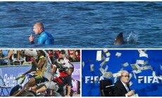 Keisčiausi 2015 metų sporto momentai (AFP ir Reuters nuotr.)