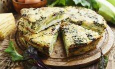 Itališkas cukinijų ir sūrio apkepas