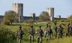 Švedija stiprina pajėgas Baltijos regione