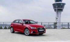 Audi A3 Sportback išmėginome Miunchene