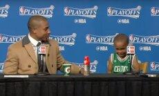 Isaiah Thomasas su savo sūnumis
