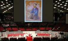 Samurajaus Takayama Ukono beatifikacijos ceremonija Osakoje