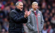 Jose Mourinho ir Arsene'as Wengeras
