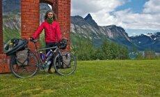 Kelionė dviračiu į šiauriausią Europos tašką