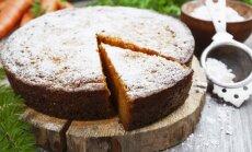 Morkų ir maskarponės pyragas