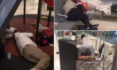 Madrido oro uoste užstrigę lietuviai