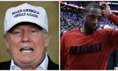 Donaldas Trumpas, Dwyane'as Wade'as
