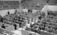 LR Aukščiausiosios Tarybos-Atkuriamojo Seimo plenarinių posėdžių salė, deputatai