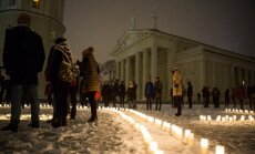Vilnius goes dark for Earth Hour