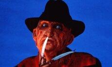 Robertas Englundas vaidina Fredį Kriugerį. 1989 m.