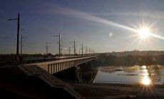 Panemunė Bridge in Kaunas