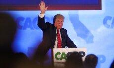 D. Trumpas Kalifornijoje
