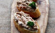Itališkas užkandis – brusketos su tunu