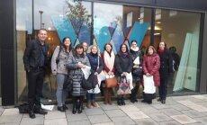 Alytaus Panemunės pagrindinės mokyklos delegacija svečiavosi Birmingeme